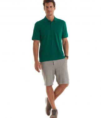 Uneek Men's Ultra Cotton Poloshirt - Yellow