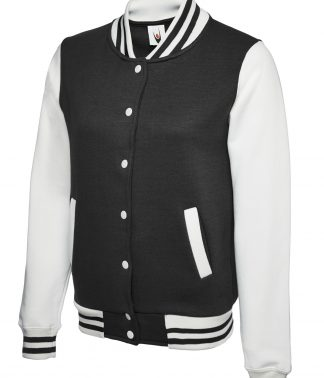 Uneek Ladies Varsity Jacket