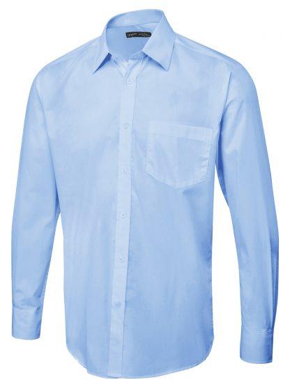Uneek Men's Long Sleeve Poplin Shirt