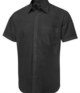 Uneek Men's Short Sleeve Poplin Shirt