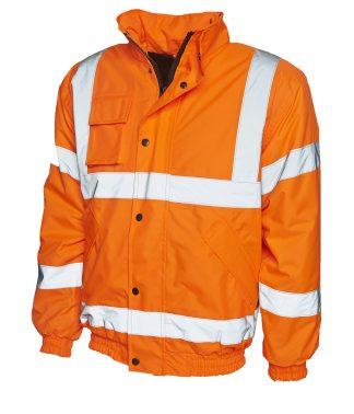 Uneek High Visibility Bomber Jacket