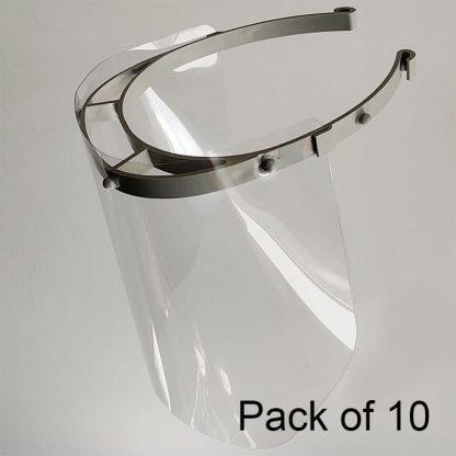 Face Visor pack of 10