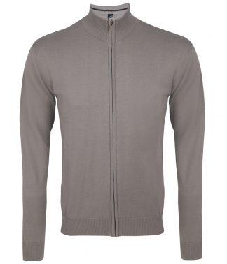 SOLs Gordon Full Zip Cardigan Grey 3XL (10548 GRE 3XL)