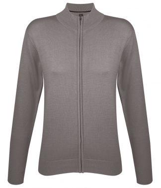 SOLs Lds Gordon Full Zip Cardigan Grey XXL (10550 GRE XXL)