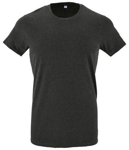 SOLs Regent Fit T-Shirt Charcoal marl XXL (10553 CHM XXL)