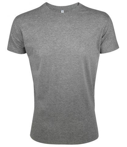 SOLs Regent Fit T-Shirt Grey marl XXL (10553 GYM XXL)