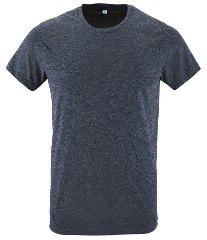 SOLs Regent Fit T-Shirt Heather denim XXL (10553 HDM XXL)