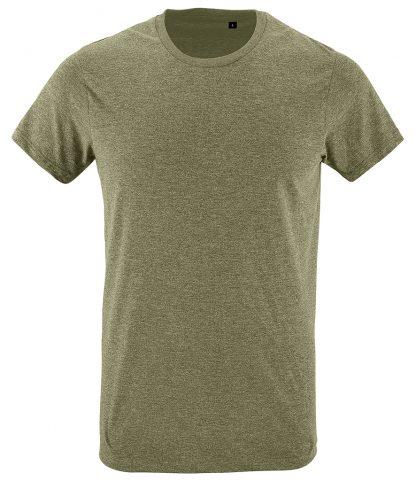 SOLs Regent Fit T-Shirt Heather khaki XXL (10553 HEK XXL)