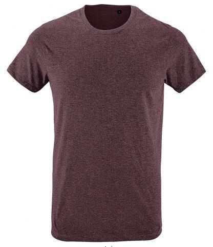 SOLs Regent Fit T-Shirt Heather oxblood XXL (10553 HOB XXL)
