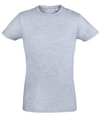 SOLs Regent Fit T-Shirt Heather sky XXL (10553 HSK XXL)
