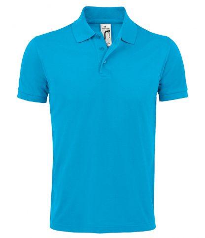 SOLs Prime Pique Polo Shirt Aqua 5XL (10571 AQA 5XL)