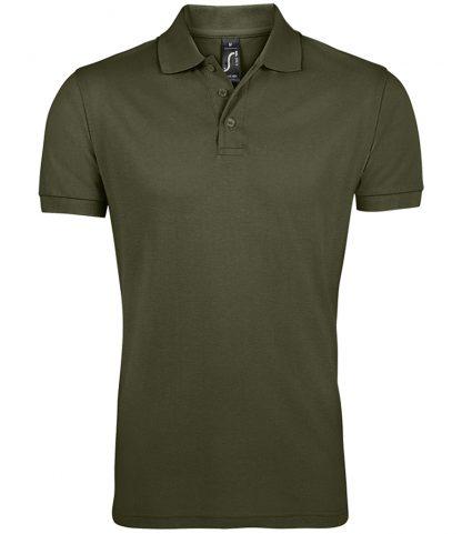 SOLs Prime Pique Polo Shirt Army 5XL (10571 ARM 5XL)