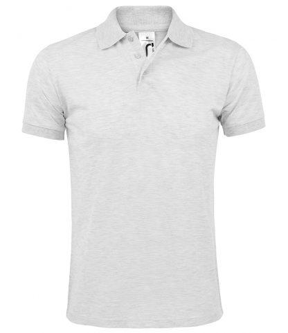 SOLs Prime Pique Polo Shirt Ash 5XL (10571 ASH 5XL)