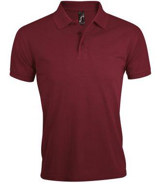 SOLs Prime Pique Polo Shirt Burgundy 5XL (10571 BUR 5XL)