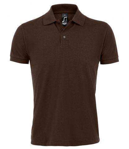 SOLs Prime Pique Polo Shirt Chocolate 5XL (10571 CHO 5XL)