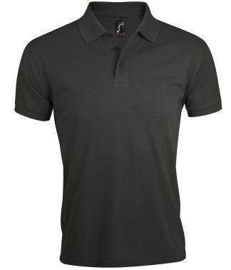 SOLs Prime Pique Polo Shirt Dark Grey 5XL (10571 DGY 5XL)
