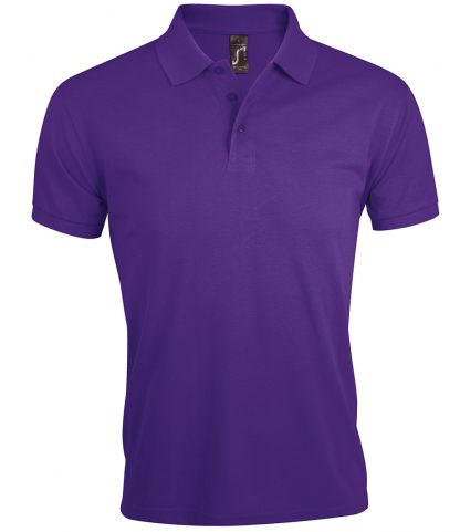 SOLs Prime Pique Polo Shirt Dark purple 5XL (10571 DKP 5XL)