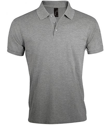 SOLs Prime Pique Polo Shirt Grey marl 5XL (10571 GYM 5XL)