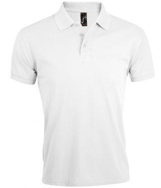 SOLs Prime Pique Polo Shirt White 5XL (10571 WHI 5XL)