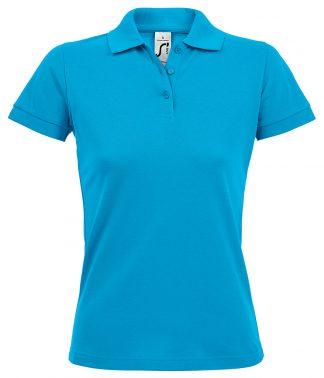 SOLs Lds Prime Pique Polo Shirt Aqua 3XL (10573 AQA 3XL)