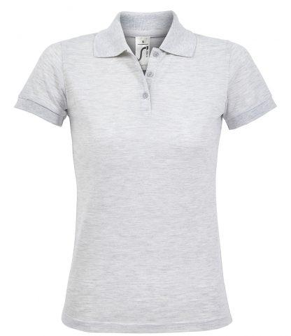 SOLs Lds Prime Pique Polo Shirt Ash 3XL (10573 ASH 3XL)
