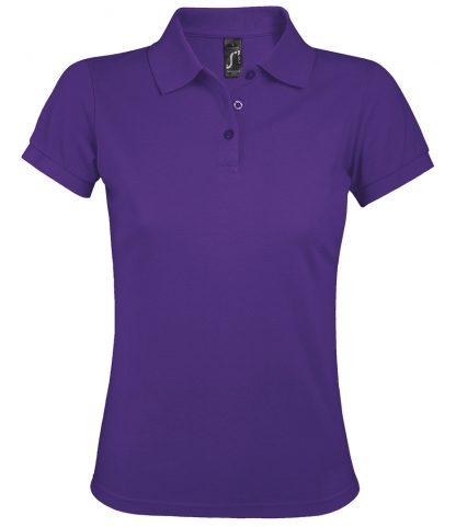 SOLs Lds Prime Pique Polo Shirt Dark purple 3XL (10573 DKP 3XL)