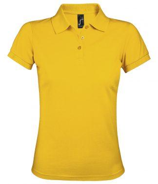 SOLs Lds Prime Pique Polo Shirt Gold 3XL (10573 GOL 3XL)