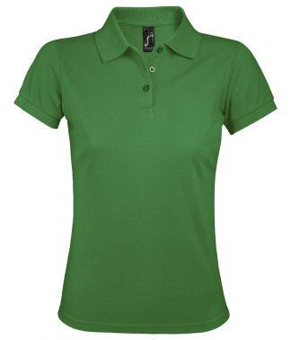 SOLs Lds Prime Pique Polo Shirt Kelly 3XL (10573 KEL 3XL)