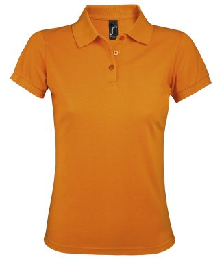 SOLs Lds Prime Pique Polo Shirt Orange 3XL (10573 ORA 3XL)