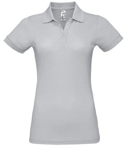 SOLs Lds Prime Pique Polo Shirt Pure grey 3XL (10573 PGE 3XL)
