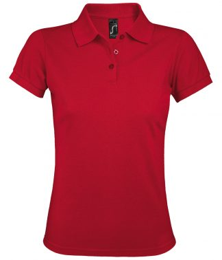 SOLs Lds Prime Pique Polo Shirt Red 3XL (10573 RED 3XL)