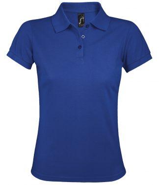 SOLs Lds Prime Pique Polo Shirt Royal 3XL (10573 ROY 3XL)