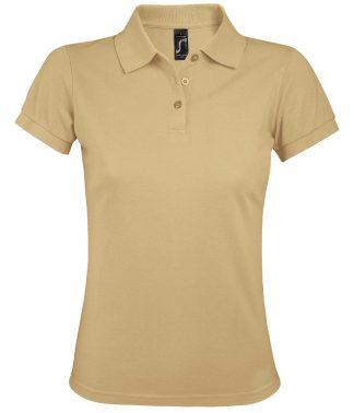 SOLs Lds Prime Pique Polo Shirt Sand 3XL (10573 SAN 3XL)