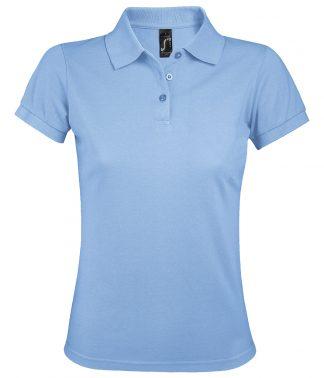 SOLs Lds Prime Pique Polo Shirt Sky blue 3XL (10573 SKY 3XL)