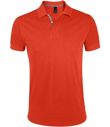 SOLS Portland Polo Shirt Burnt Orange 3XL (10574 BOR 3XL)