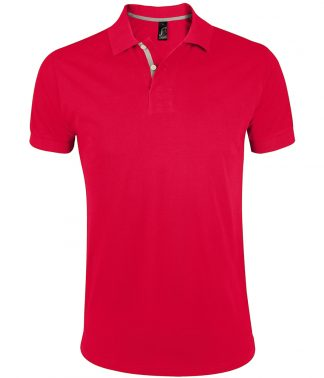 SOLS Portland Polo Shirt Red 3XL (10574 RED 3XL)