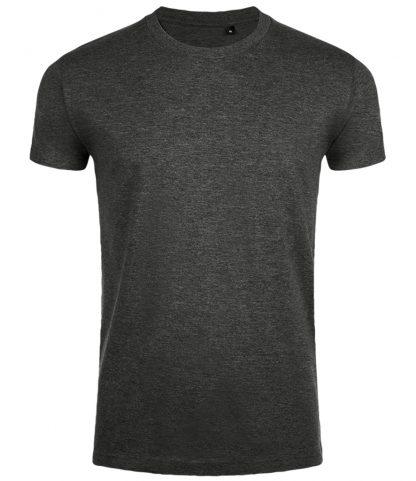 SOLs Imperial Fit T-shirt Charcoal marl XXL (10580 CHM XXL)
