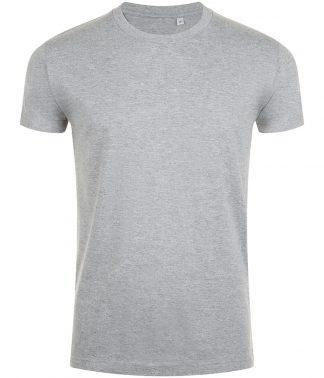 SOLs Imperial Fit T-shirt Grey marl XXL (10580 GYM XXL)