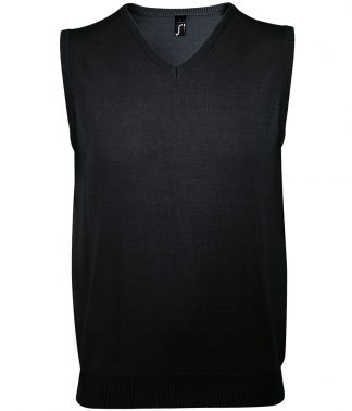SOLs Gentlemen S/less Sweater Black 3XL (10591 BLK 3XL)