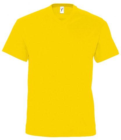 SOLS Victory V Nk T-Shirt Gold 3XL (11150 GOL 3XL)