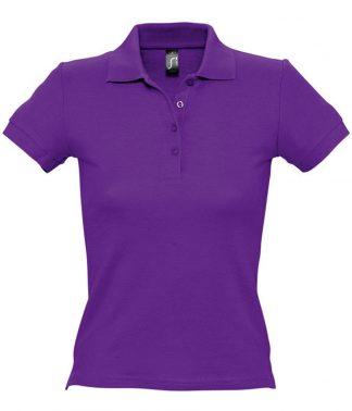 SOLS Ladies People Polo Dark purple XXL (11310 DKP XXL)