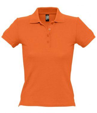 SOLS Ladies People Polo Orange XXL (11310 ORA XXL)