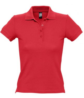 SOLS Ladies People Polo Red 3XL (11310 RED 3XL)