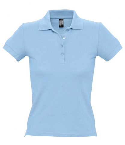 SOLS Ladies People Polo Sky blue XXL (11310 SKY XXL)