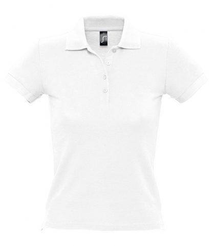 SOLS Ladies People Polo White 3XL (11310 WHI 3XL)