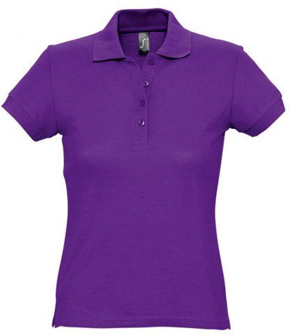 SOLS Ladies Passion Polo Dark purple XXL (11338 DKP XXL)