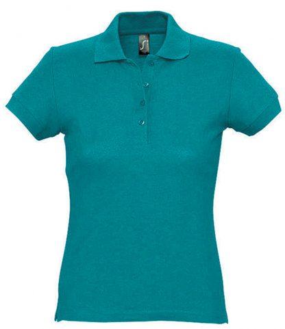 SOLS Ladies Passion Polo Duck blue XXL (11338 DUB XXL)