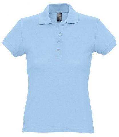 SOLS Ladies Passion Polo Sky blue XXL (11338 SKY XXL)