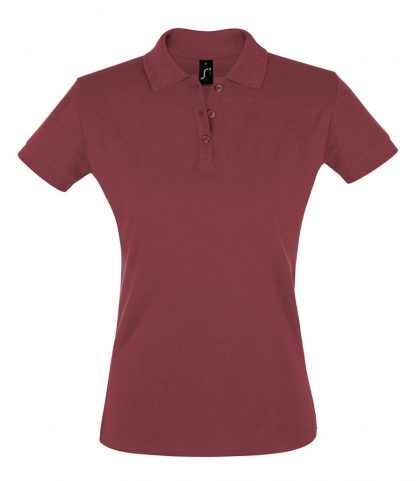 SOLS Ladies Perfect Polo Burgundy XXL (11347 BUR XXL)