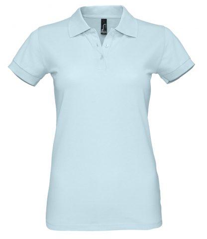 SOLS Ladies Perfect Polo Creamy blue XXL (11347 CYB XXL)